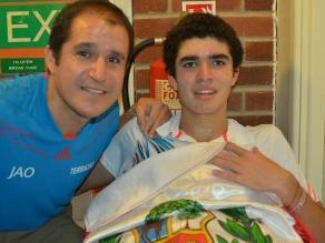Diego Elías hizo historia en el squash al ganar el British Junior Open