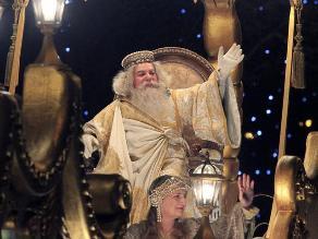 Reyes magos llenan de magia las calles españolas