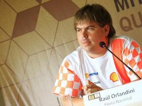 Raúl Orlandini abandonó el Rally Dakar 2013 por problemas con el motor