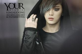 Revelan poster del primer mini concierto y fanmeeting de Jaejoong
