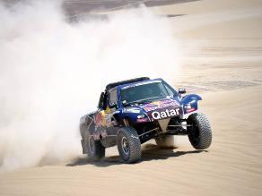Carlos Sainz tras etapa de Nazca: Pensé que el Dakar se acababa para mí