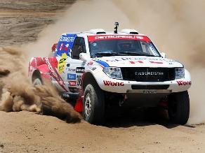 Ramón Ferreyros fue el mejor peruano en la tercera etapa de automóviles