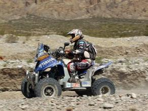 Marcos Patronelli lidera en cuatrimotos tras llegar a Nazca en el Dakar