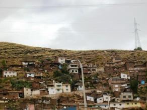 Cusco: Pobladores podrían perder viviendas por constantes deslizamientos