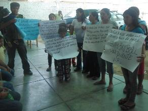 La Libertad: Unas 40 familias exigen electrificación en Virú