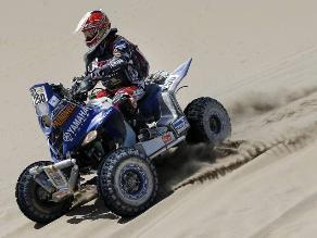 Marcos Patronelli sigue imbatible con su cuatrimoto en el Rally Dakar