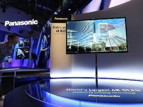 Panasonic presenta su prototipo de TV OLED en Ultra HD y 56 pulgadas