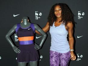 FOTOS: Serena Williams presentó su uniforme para el Abierto de Australia