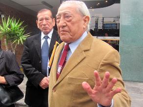 Isaac Humala:´Esperamos con confianza la resolución del TC´