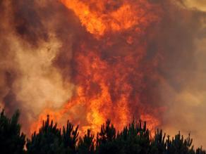 Chile: Incendio en región Valparaíso deja sin energía a 500.000 personas