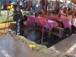 Chiclayo: Vecinos se quejan por aparición de aguas servidas