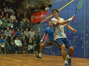 Diego Elías se consagró campeón del Scotish Junior Open de Squash