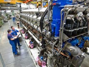 Industria de Alemania se desacelera en noviembre