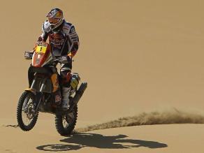 Dakar 2013: Cyril Despres acorta distancia con líder Olivier Pain en motos