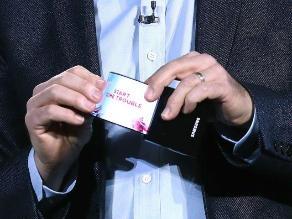 Samsung mostró su prototipo de pantallas flexibles en la CES 2013