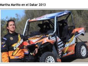 Anestesista colombiana cumple el sueño de su vida: correr el Rally Dakar