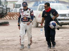 Carlos Sainz manifestó que no se arrepiente de haber vuelto al Dakar