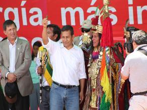Cusco: Inca advierte a Humala cumplir con la construcción del gasoducto