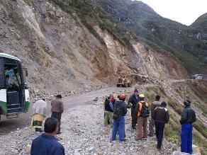 Cajamarca: Deslizamiento en carretera Lajas-Cochabamba deja dos muertos