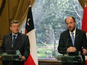 Cancilleres de Perú y Chile se reunirán para impulsar agenda bilateral