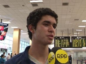 Diego Elías: Ahora todos saben que un peruano es campeón mundial