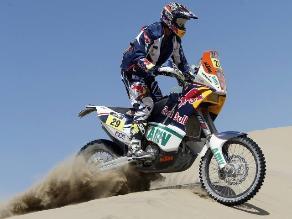 Kurt Caselli gana la séptima etapa de motos en el Rally Dakar 2013