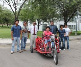 Piura: Así funciona ´Tridisc P.1´, el vehículo para discapacitados