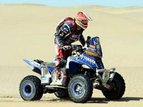 Zarel Van Biljon ganó la octava etapa del Dakar en cuatrimotos