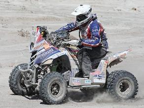 Ignacio Flores quedó noveno en octava etapa de cuatrimotos del Dakar