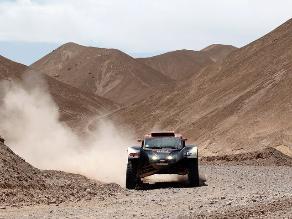 Guerlain Chicherit ganó la octava etapa del Dakar en la categoría autos