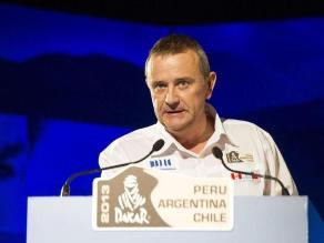 Etienne Lavigne, director del Dakar: ´Hubo etapas de leyenda en Perú´