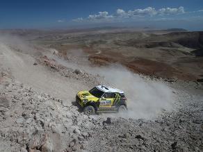 Nani Roma molesto con organizadores del Dakar tras la octava etapa