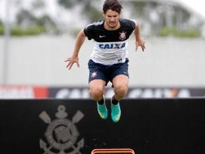Alexandre Pato inició su preparación física con el Corinthians
