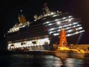 Trujillo: Realizan misa a un año del naufragio del crucero Concordia