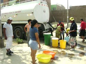Cortarán servicio de agua potable en seis distritos de Lima Sur