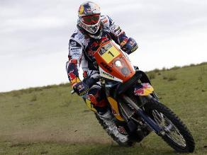 Cyril Despres manda en motos pero Joan Barreda ganó etapa en el Dakar