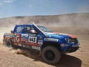 La delegación peruana en el Rally Dakar sigue firme rumbo a Santiago