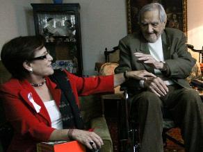 Susana Villarán lamentó que Armando Villanueva declinara condecoración