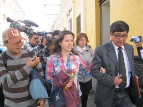 Rosario Ponce espera audiencia de apelación para demostrar inocencia