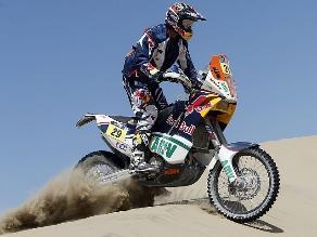 Kurt Caselli gana undécima etapa de motos pero Despres lidera la general