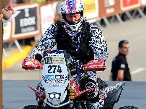 Paul Smith gana undécima etapa de cuatrimotos del Rally Dakar 2013