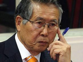 Alberto Fujimori sufrió cuadro de hipotensión, revela Aguinaga
