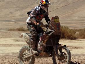 Cyril Despres destacó la dificultad de la undécima etapa del Dakar
