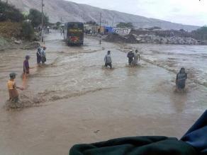 Ica: Pobladores expresan temor ante caída de huaicos en Palpa