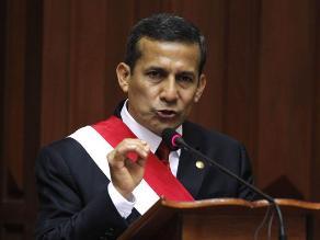 Humala: Ley del dinero electrónico fue hecha para dar mayor bienestar