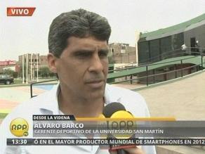 Joel Sánchez recibirá apoyo de la Universidad San Martín tras el doping
