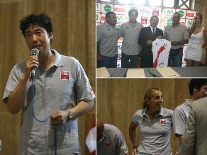 Federación de Voleibol presentó al nuevo técnico de la selección mayor