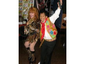 La Tigresa del Oriente zapateó bailando huaynito con el Chato Grados