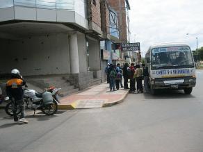 Se retrasa llegada de buses interprovinciales a Huánuco por nevada