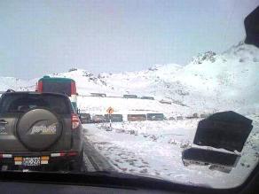 Se normaliza tránsito de vehículos en Ticlio